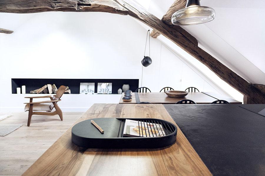 Arredamento per un casa di 50 mq dal design moderno n.22