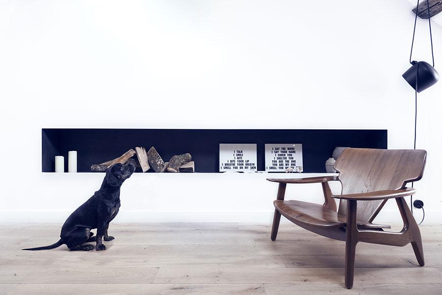 Arredamento per un casa di 50 mq dal design moderno n.23