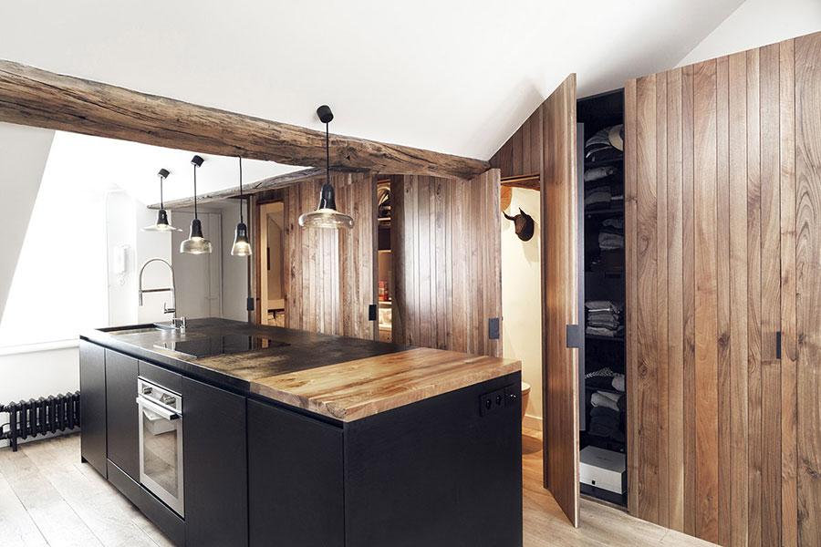 Arredamento per un casa di 50 mq dal design moderno n.26