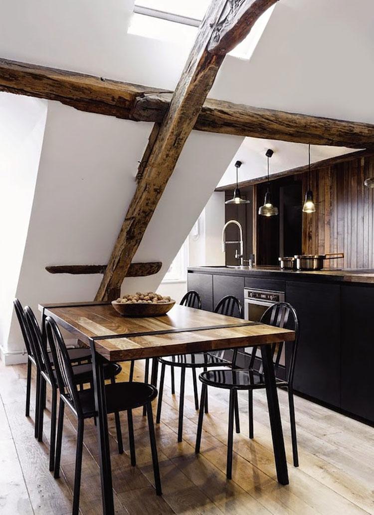 Arredamento per un casa di 50 mq dal design moderno n.28
