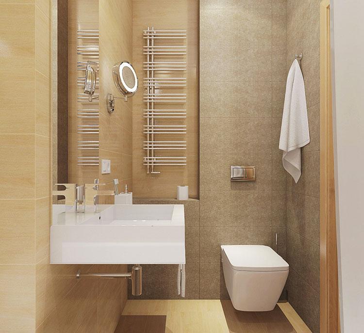 Arredamento per un casa di 50 mq dal design moderno n.40
