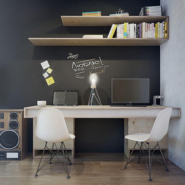 Arredamento per un casa di 50 mq dal design moderno n.45