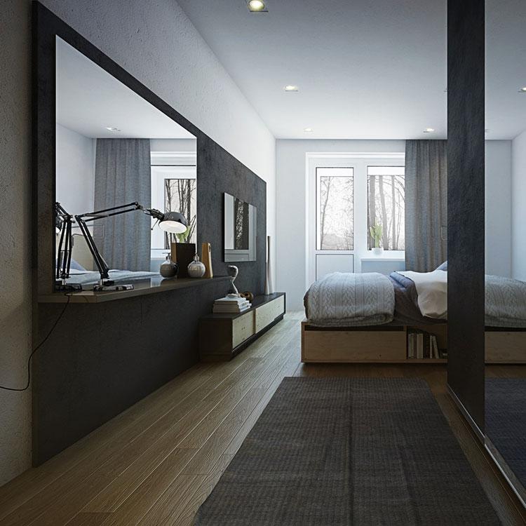 Arredamento per un casa di 50 mq dal design moderno n.48