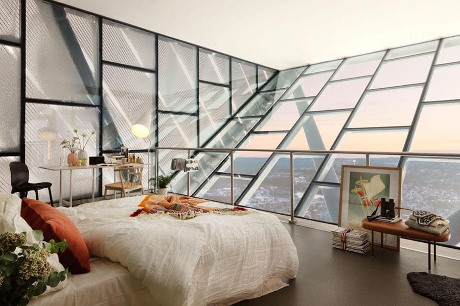 Arredamento per camera da letto dal design nordico n.06