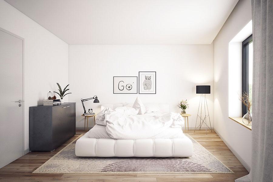 Arredamento per camera da letto dal design nordico n.15