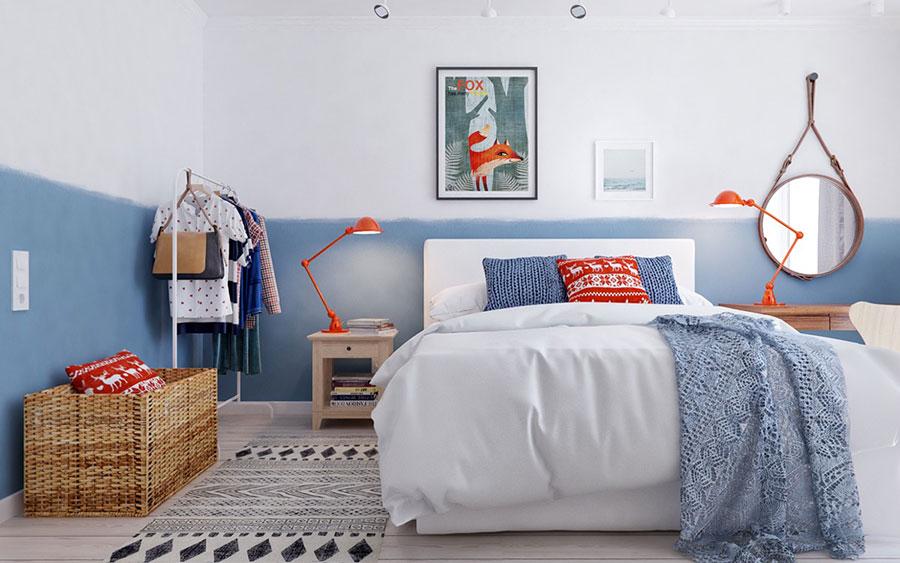Arredamento per camera da letto dal design nordico n.16