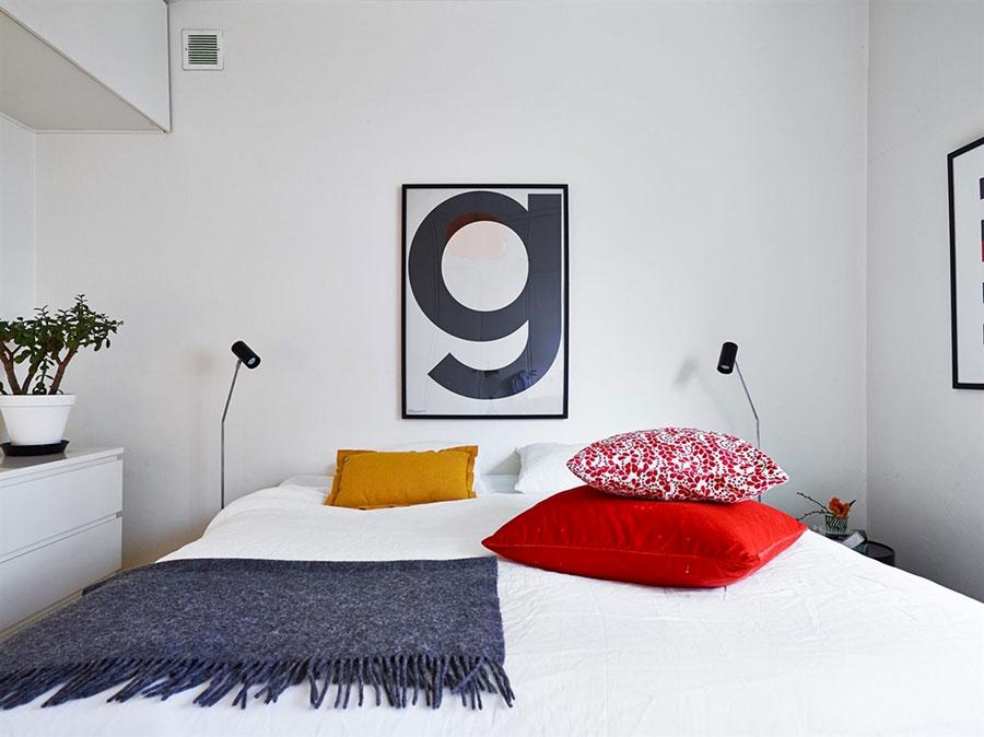 Arredamento per camera da letto dal design nordico n.18
