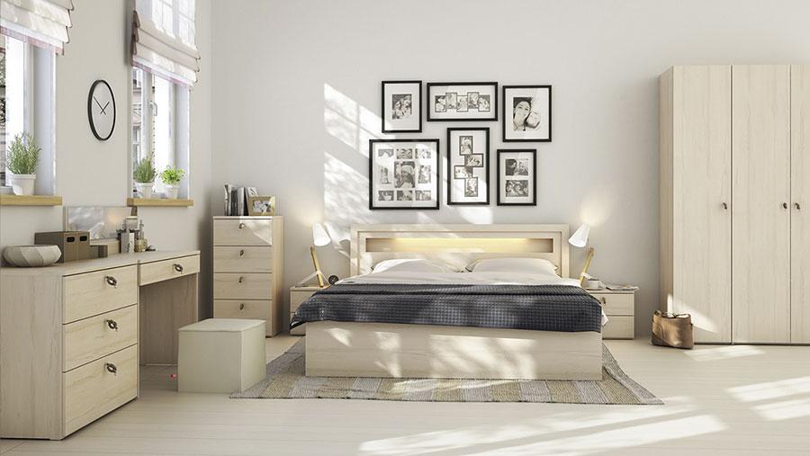 Arredamento per camera da letto dal design nordico n.20