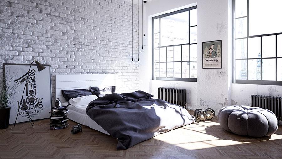 Arredamento per camera da letto dal design nordico n.23