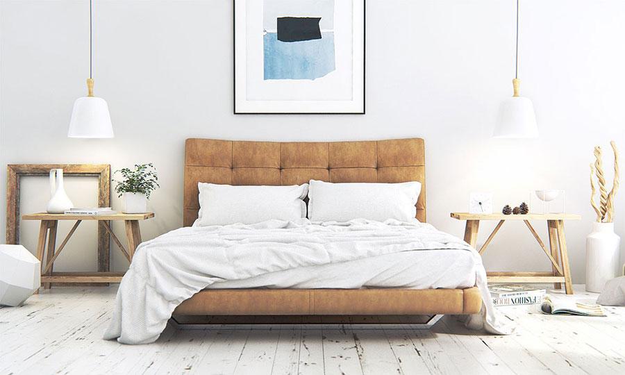 Arredamento per camera da letto dal design nordico n.24