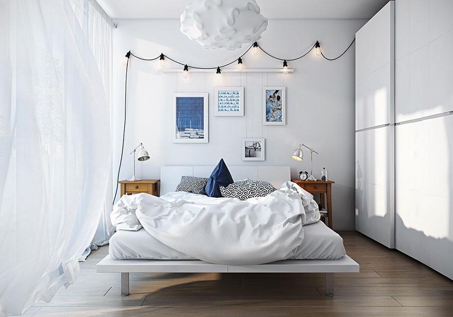Camere da letto in stile scandivano 25 idee di arredo dal for Arredamento camera da letto design