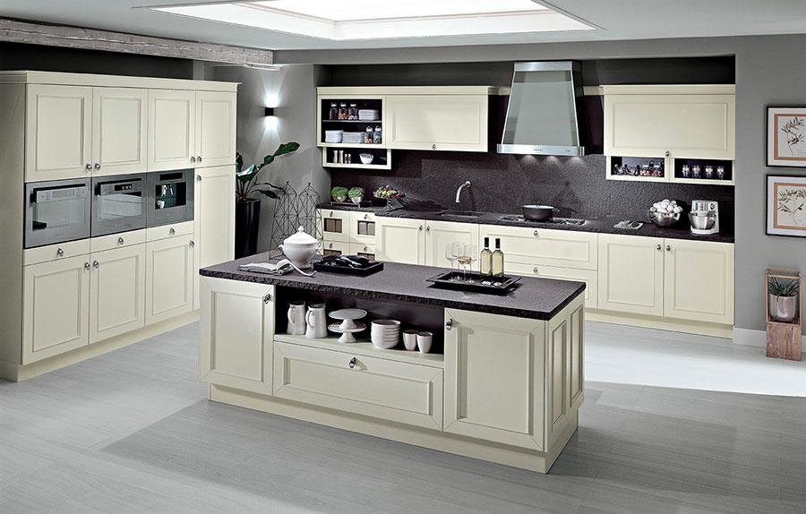 Modello di cucina classica bianca n.12