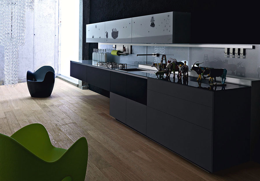 Valcucine Kitchen Cabinets