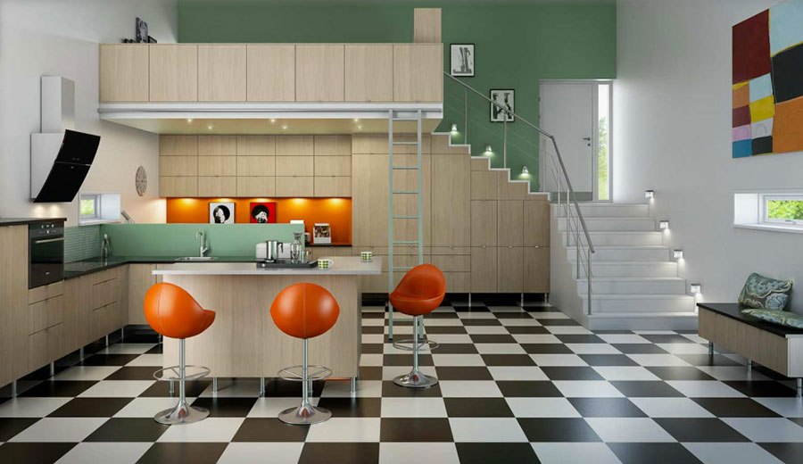 Arredamento anni 39 60 guida alla scelta di mobili colori - Colori adatti alla cucina ...