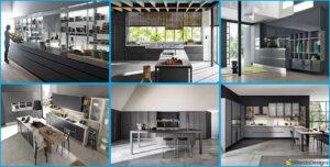 Cucine moderne grigie 22 modelli delle migliori marche - Migliori marche di cucine ...