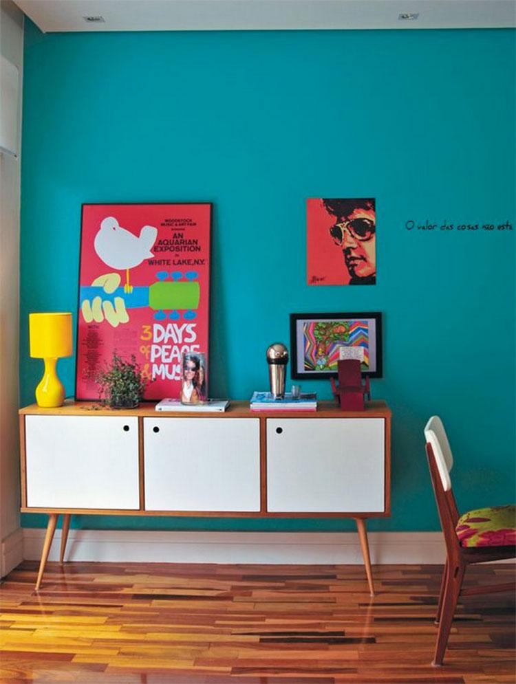 Decorazioni per casa in stile vintage anni '60 n.01