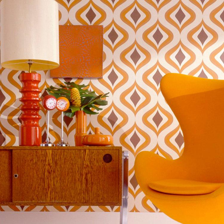 Decorazioni per casa in stile vintage anni '60 n.03