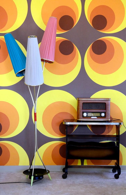 Decorazioni per casa in stile vintage anni '60