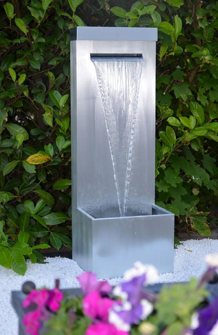 20 modelli di fontane da giardino dal design particolare - Giardini zen da esterno ...