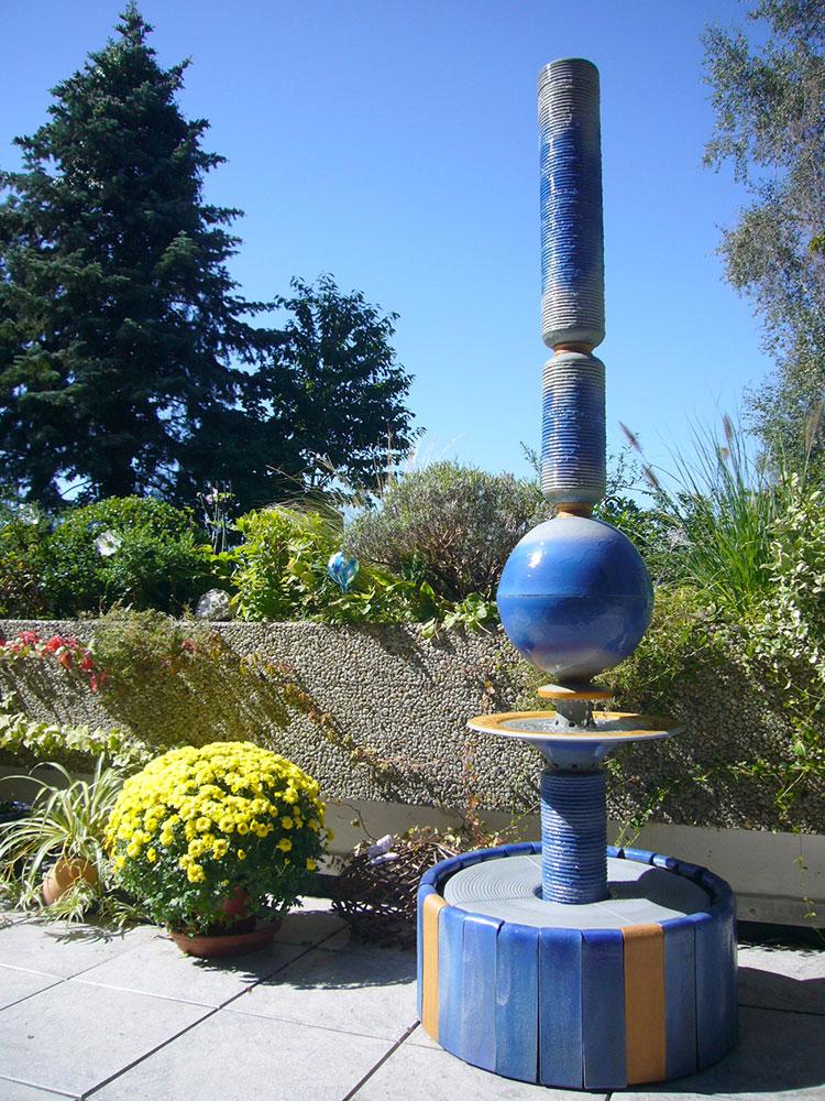 Modello di fontana da giardino dal design originale n.08