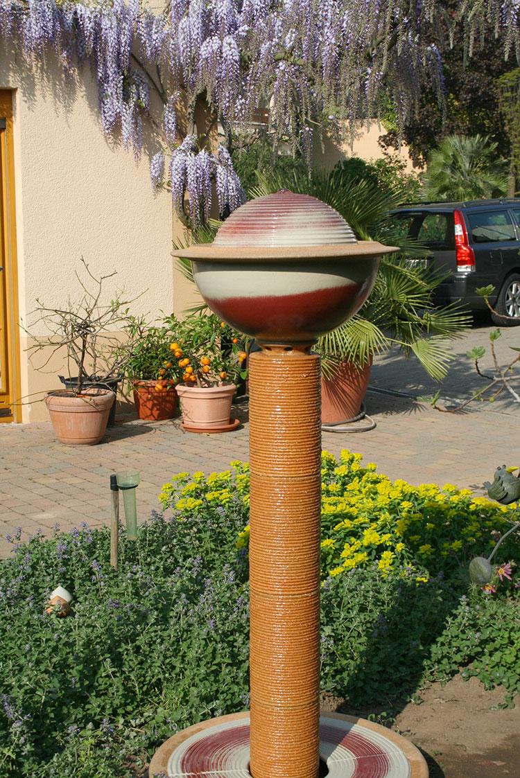 Modello di fontana da giardino dal design originale n.11
