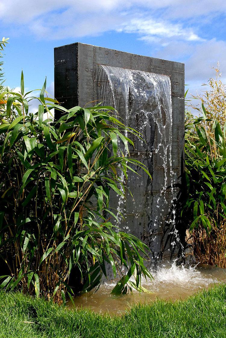 Modello di fontana da giardino dal design originale n.15