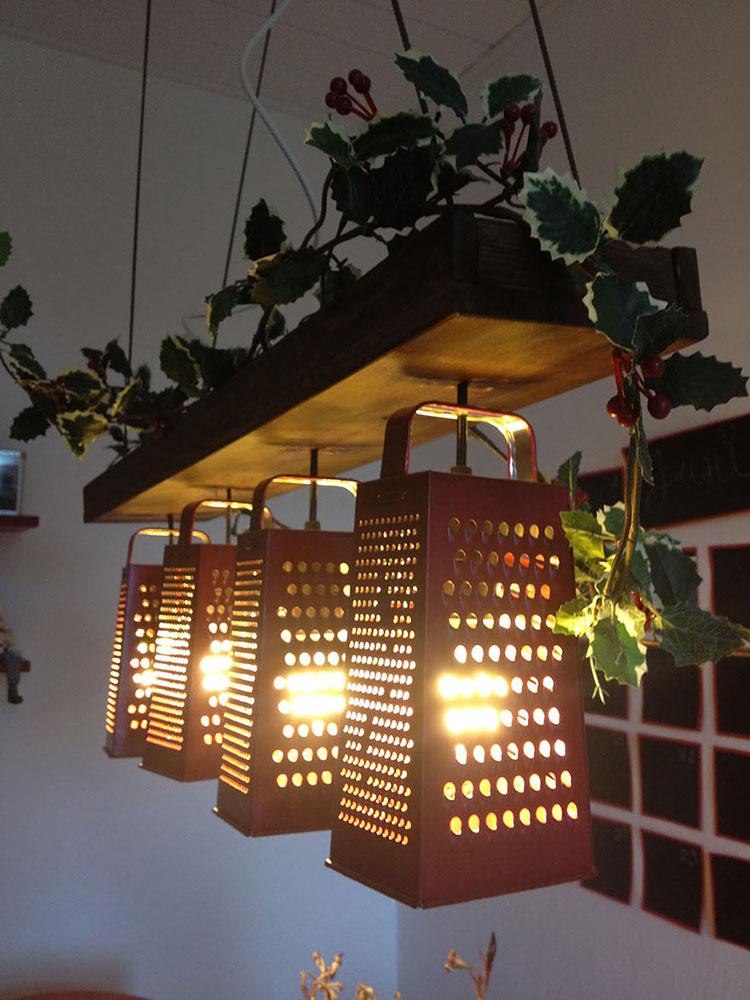Lampadari Fai Da Te Tutorial.Lampadari Fai Da Te 20 Idee Semplici Dal Design Originale