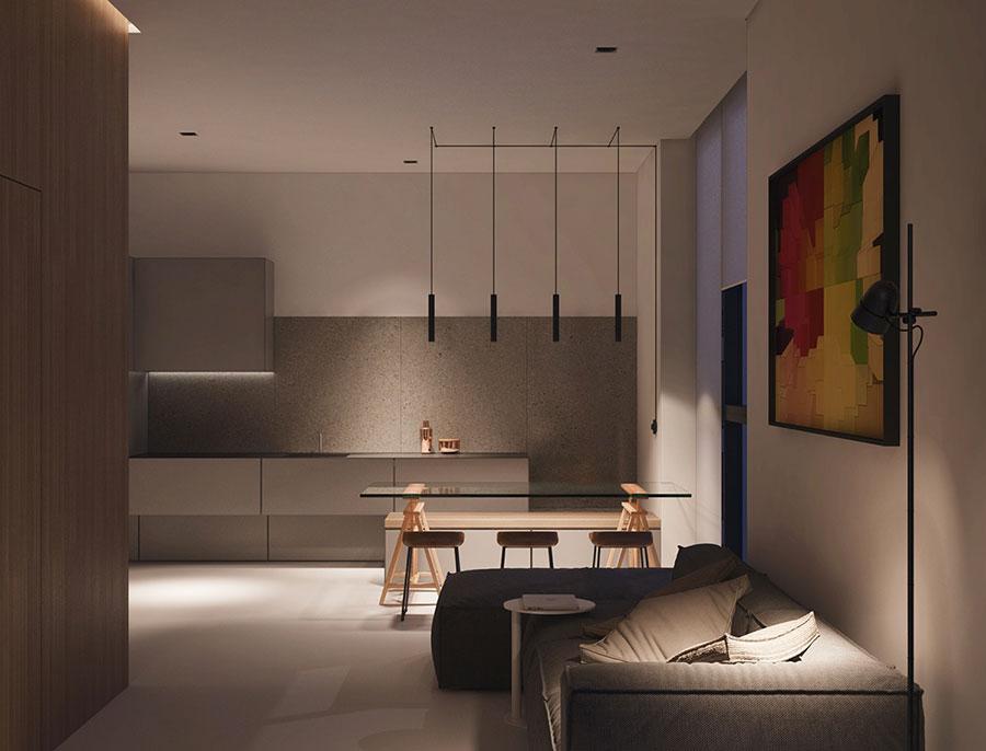 Piccoli appartamenti di lusso idee per arredare con for Arredare piccoli appartamenti
