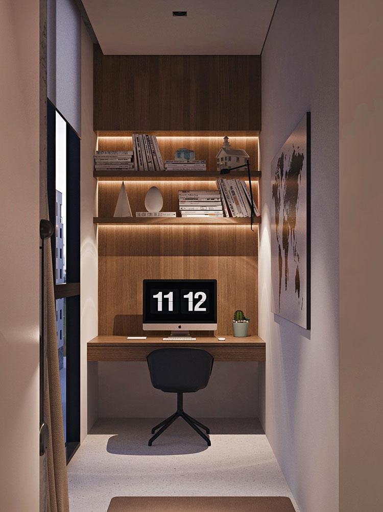 Arredamento per un piccolo appartamento di lusso n.14