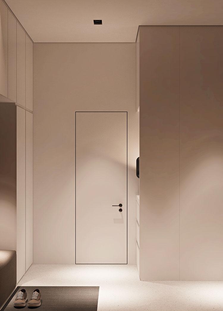 Arredamento per un piccolo appartamento di lusso n.15