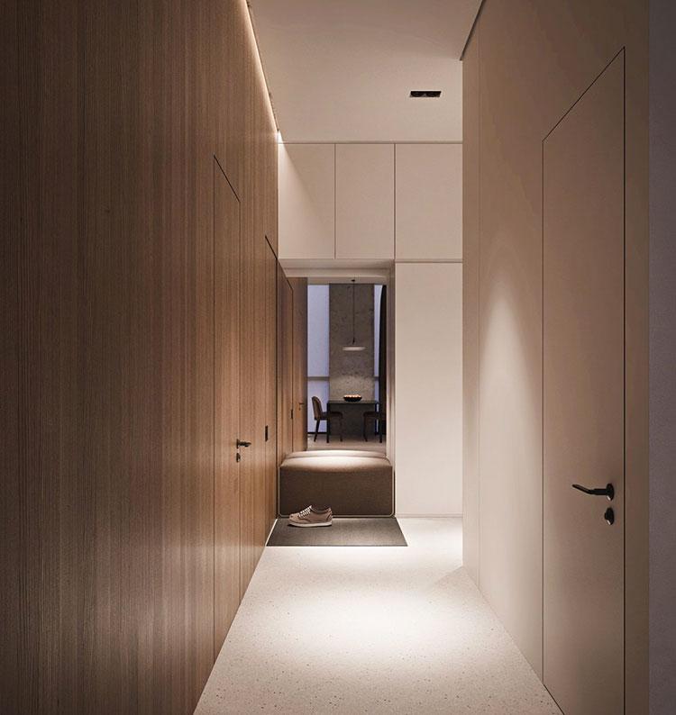 Arredamento per un piccolo appartamento di lusso n.17