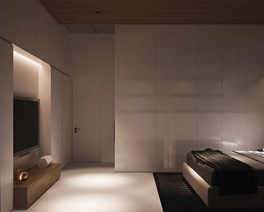 Arredamento per un piccolo appartamento di lusso n.21