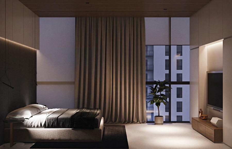 Arredamento per un piccolo appartamento di lusso n.22