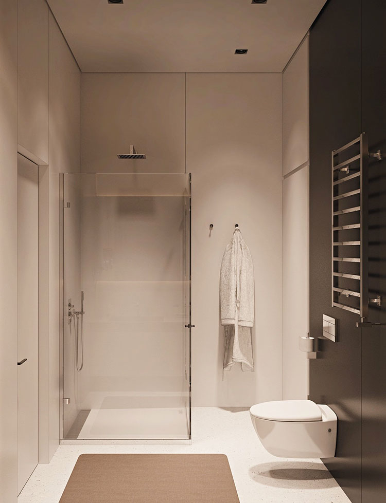 Arredamento per un piccolo appartamento di lusso n.23
