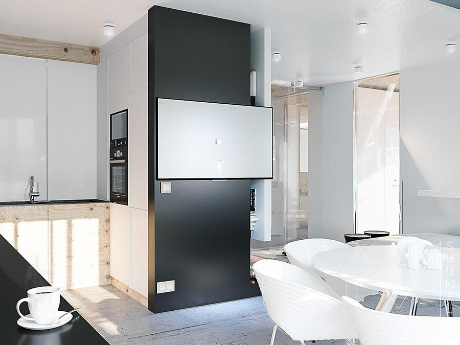 Arredamento per un piccolo appartamento di lusso n.28