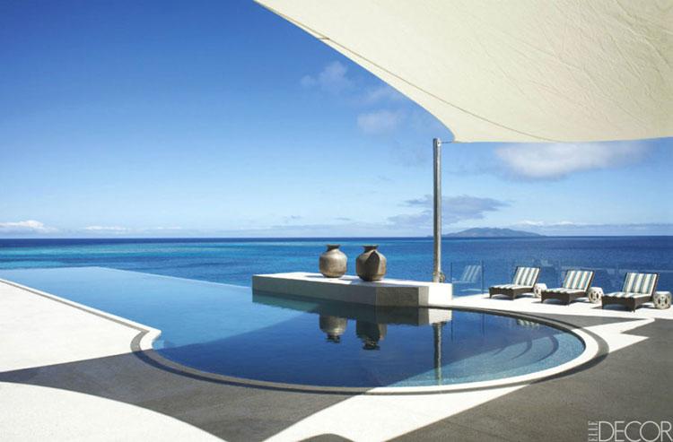 Progetto di design per una piscina da sogno n.02
