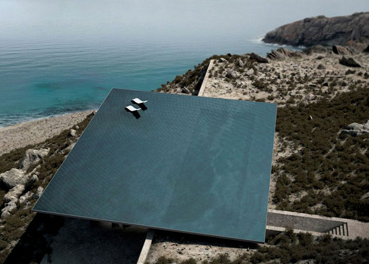 Progetto di design per una piscina da sogno n.05