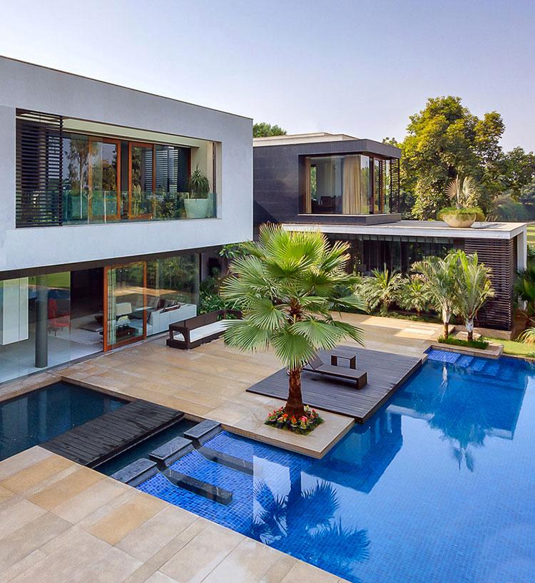 Progetto di design per una piscina da sogno n.07