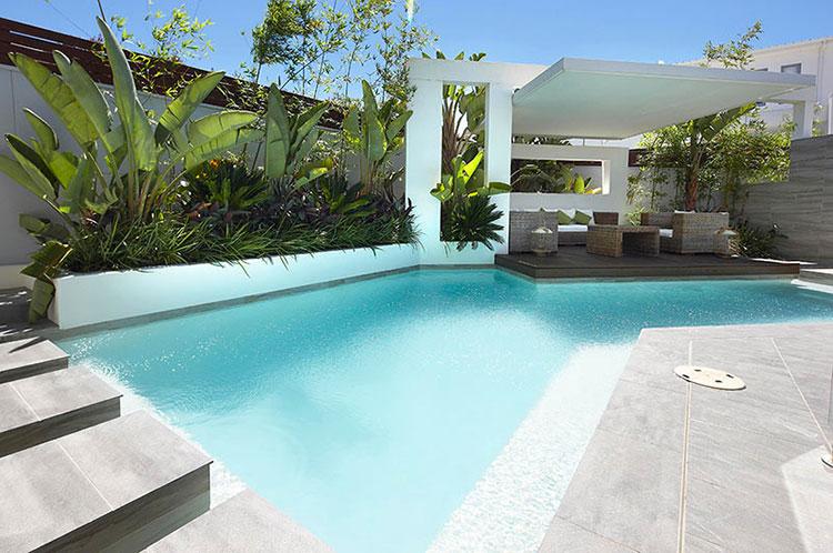 Progetto di design per una piscina da sogno n.08