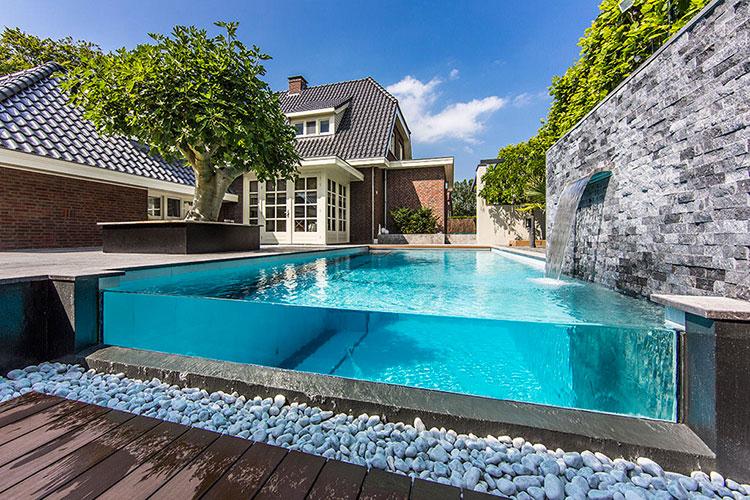 Progetto di design per una piscina da sogno n.09