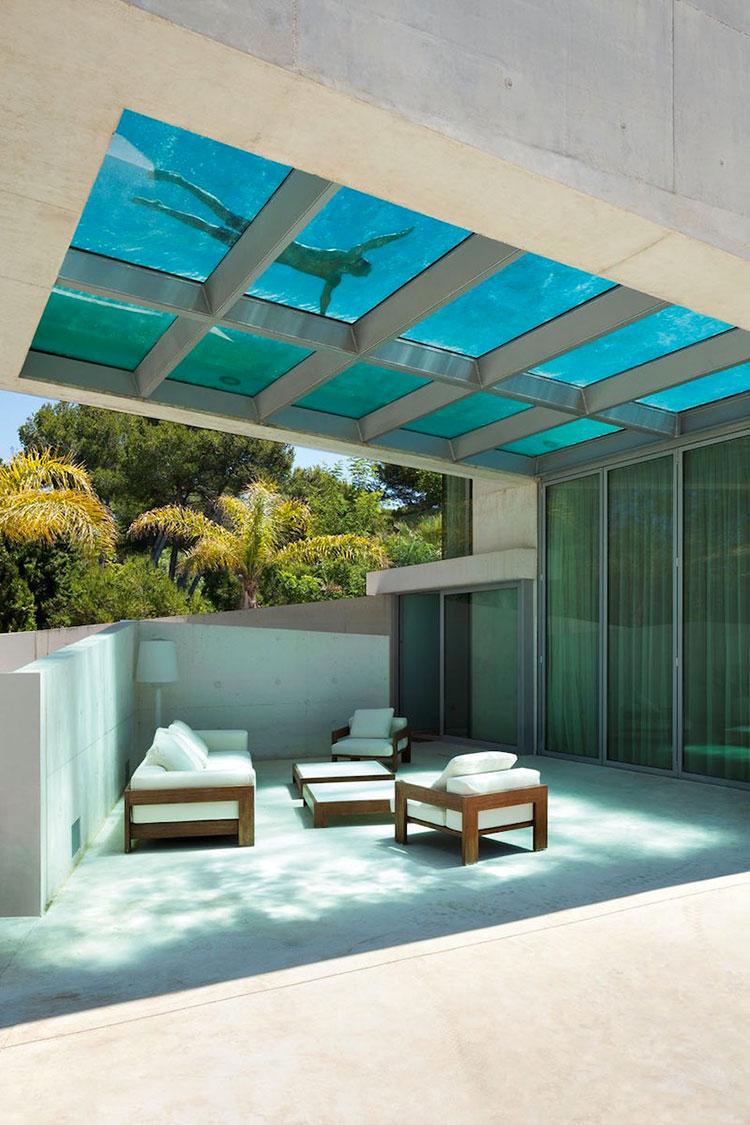 Progetto di design per una piscina da sogno n.11