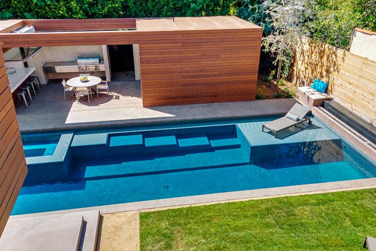 Progetto di design per una piscina da sogno n.12