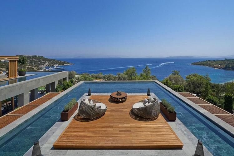 Progetto di design per una piscina da sogno n.15