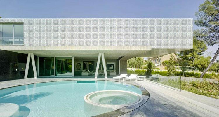 Progetto di design per una piscina da sogno n.16