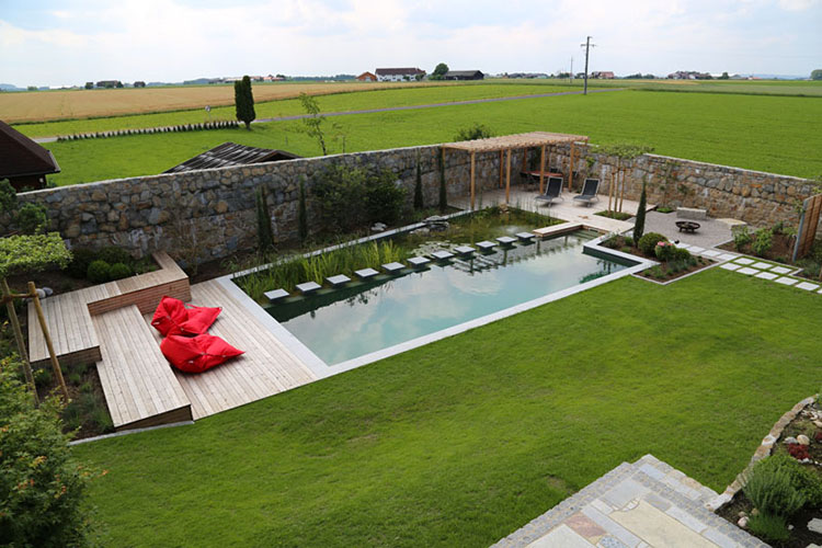 Progetto di design per una piscina da sogno n.17