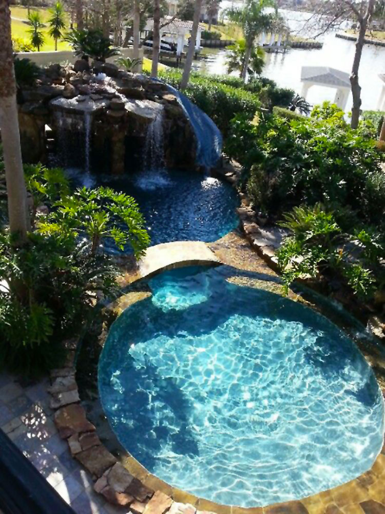 Progetto di design per una piscina da sogno n.19