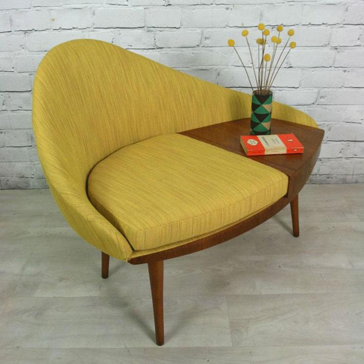 Poltrona stile vintage anni '60
