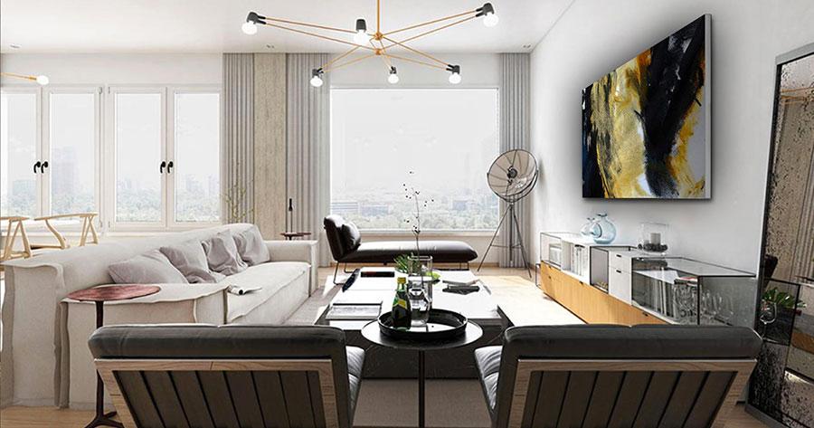 Quadri per soggiorno moderno dal design di tendenza n.02