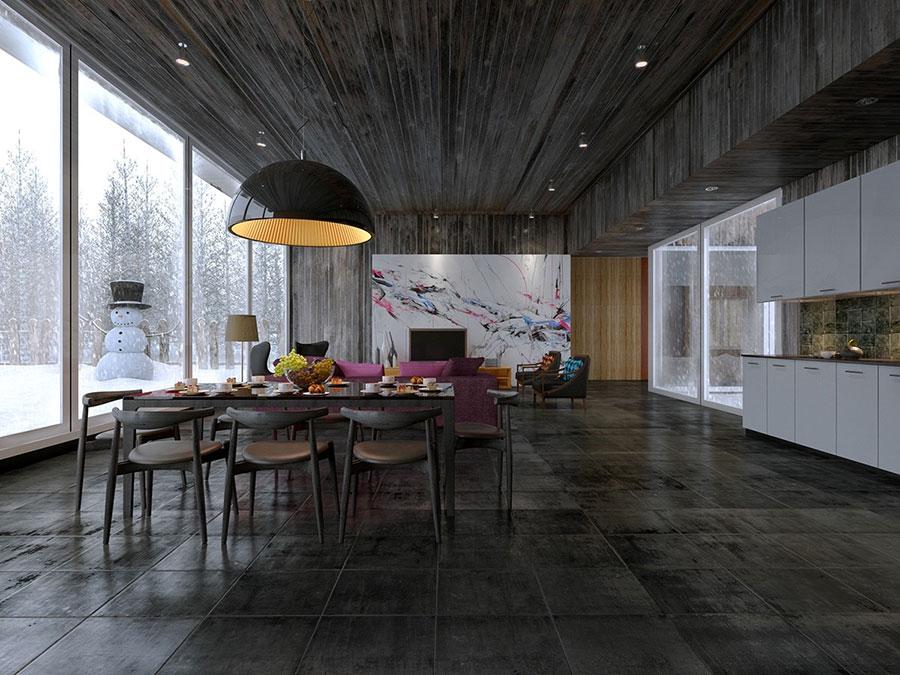 Quadri per soggiorno moderno dal design di tendenza n.09