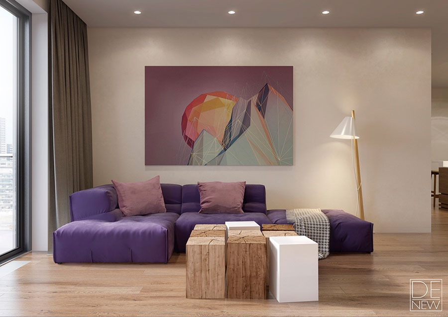 Quadri per soggiorno moderno le ultime tendenze di design